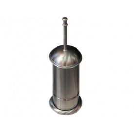 Ершик для унитаза напольный KUGU Toilet Brush 432I Сатин (3398)