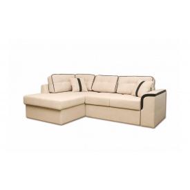 Угловой ортопедический диван Garnitur.plus Милан Молочный 244 см