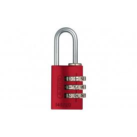 Замок навісний ABUS 145/20 Combination Lock Red (478512)