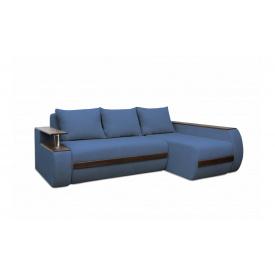 Угловой ортопедический диван Garnitur.plus Граф Аквамарин 245 см