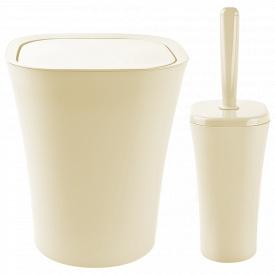 Набір для ванної кімнати PLANET PAPILLON 2 предмета Крем