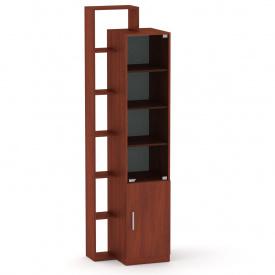 Шкаф витрина с полками Компанит Шкаф-10 яблоня