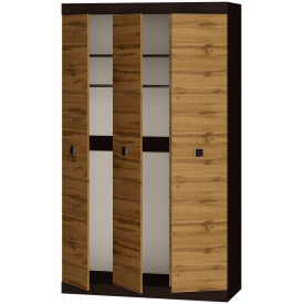 Шкаф 3-х дверный Эверест Соната-1200 венге + аппалачи