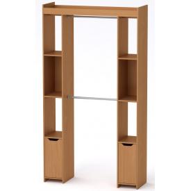 Шкаф для вещей 16 Компанит Бук (130х42х235 см)