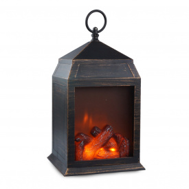 Фонарь-ночник Wellamart с эффектом живого огня (Арт. 5278)