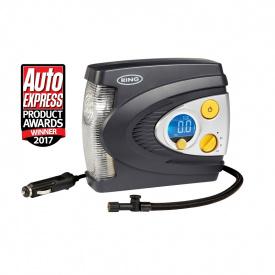 Компрессор автомобильный RING RAC635 12В цифровой датчик давления, LED дисплей, функция автоматического отключения