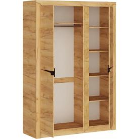 Шкаф для вещей 1420 Либерти Эверест Дуб Крафт золотой