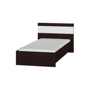 Односпальная кровать Эверест Соната-900 венге + белый