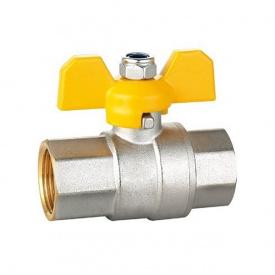Кран шаровый HLV Gas PN40 ВВ 1/2'