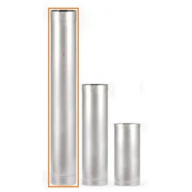 Труба из нержавеющей стали 100мм 1м AISI 201 0,5мм