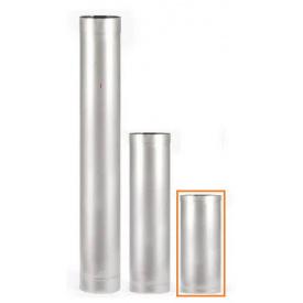 Труба из нержавеющей стали 100мм 0,3м AISI 201 0,5мм