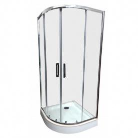 Душевая кабина Veronis KN-3-80 80х80х180 прозрачное стекло без поддона