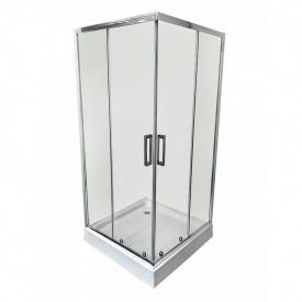Душевая кабина Veronis KNS-100 прозрачное стекло 100х100х195