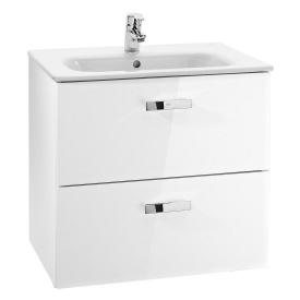 Тумба с умывальником для ванной комнаты Roca Victoria 60 см Белый A855884806