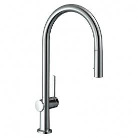 Смеситель для кухни Hansgrohe Talis M54 однорычажный с вытяжным душем 2jet sBox Хром 72801000