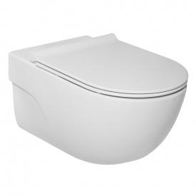 Унитаз подвесной Roca Meridian Rimless с сиденьем Slim Белый A34H240000