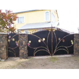 Ворота ковані ПП Брама Кумец