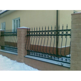Забор кованый ЧП Брама Марина