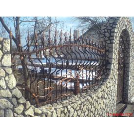 Забор кованый ЧП Брама Князь