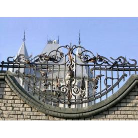 Забор кованый ЧП Брама Адель