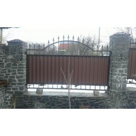 Забор кованый ЧП Брама Профит