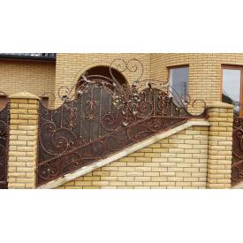Забор кованый ЧП Брама Джинс