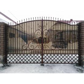 Ворота ковані ПП Брама Іра