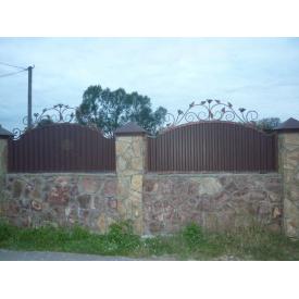 Забор кованый ЧП Брама Мок