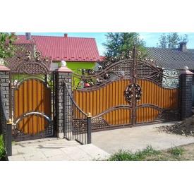 Ворота ковані ПП Брама Святослава