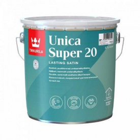 Лак уретано-алкидный Tikkurila unica super 20 2.7