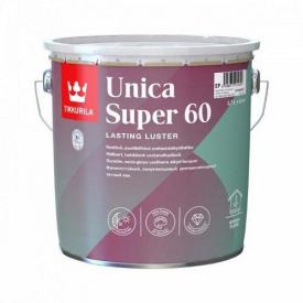 Лак уретано-алкидный Tikkurila unica super 60 2.7