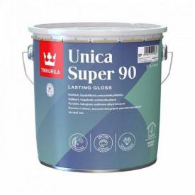 Лак уретано-алкидный Tikkurila unica super 90 0,9 л