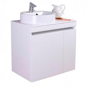 Тумба для ванной комнаты Fancy Marble Sheldon 700 с раковиной Renata Белая