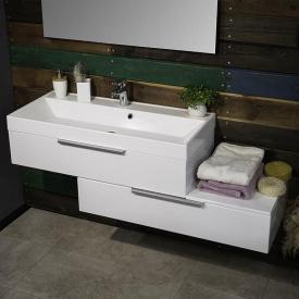 Тумба для ванной комнаты Fancy Marble Tristan 1400 с умывальником Signe 1000