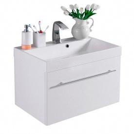Тумба для ванной комнаты Fancy Marble Corsica 70 ШН-700 с раковиной Signe 70 Белая