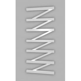 Полотенцесушитель электрический лесенка Genesis Aqua ZigZag 80x53 см Белый