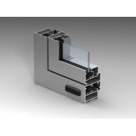 Алюминиевое окно из холодного алюминия Alutech ALT C43