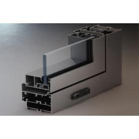 Алюминиевые двери из холодного алюминия Alutech ALT C48