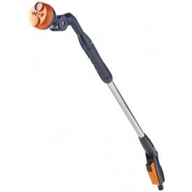 Пистолет-дождеватель Claber удлиненный 4-типа полива с поворотным коленом (82167)