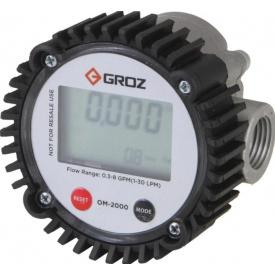 Счетчик для масла электронный Groz 47005