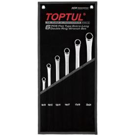 Набор накидных супердлинных ключей TOPTUL GPAP0602