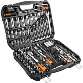 Набор инструментов Neo Tools 219 шт 1/2, 3/8, 1/4, CrV 08-671