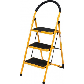 Лестница складная металлическая VOREL 3 ступени 36х26 см (17733)