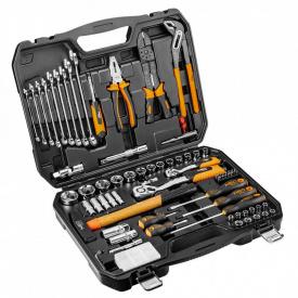 Набор инструмента Neo Tools 100 шт 1/4, 1/2, CrV 08-920