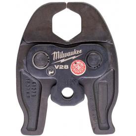 Сменные пресс-клещи Milwaukee J12-V28, для опрессовки труб (4932430268)