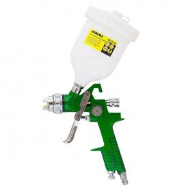 Краскораспылитель Sigma HVLP O1.7 с в/б (зеленый) (6812111)