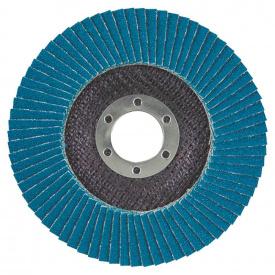 КРУГ ЛЕПЕСТКОВЫЙ ТОРЦЕВОЙ Т27 (ПРЯМОЙ) ZA диаметр125ММ P100 SIGMA (9173051)