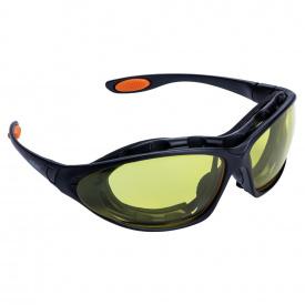 Набор очки защитные с обтюратором.сменными дужками Super Zoom anti-scratch,anti-fog(янтарь) (9410921)