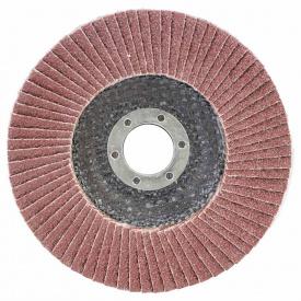 КРУГ ЛЕПЕСТКОВЫЙ ТОРЦЕВОЙ диаметр125ММ ЗЕРНО 36 SIGMA (9172031)