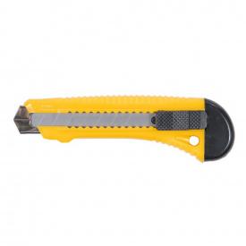 Нож строительный (пластиковый корпус) лезвие 18 мм автоматический замок Sigma (8213021)